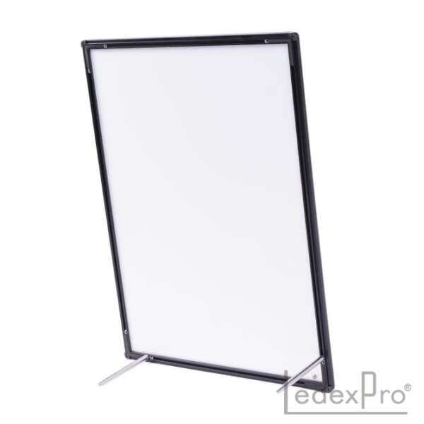 Панель с закаленным стеклом с подставкой