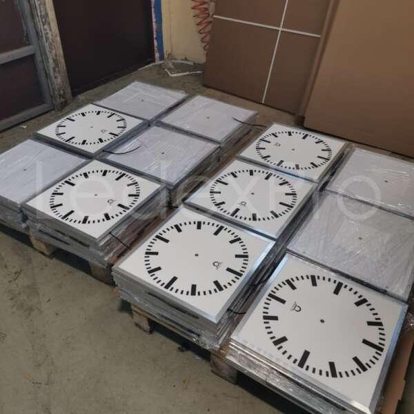 Световые часы циферблат заготовки