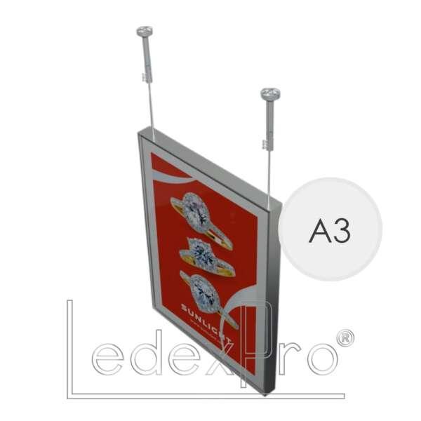 Магнетик А3 односторонний подвесной